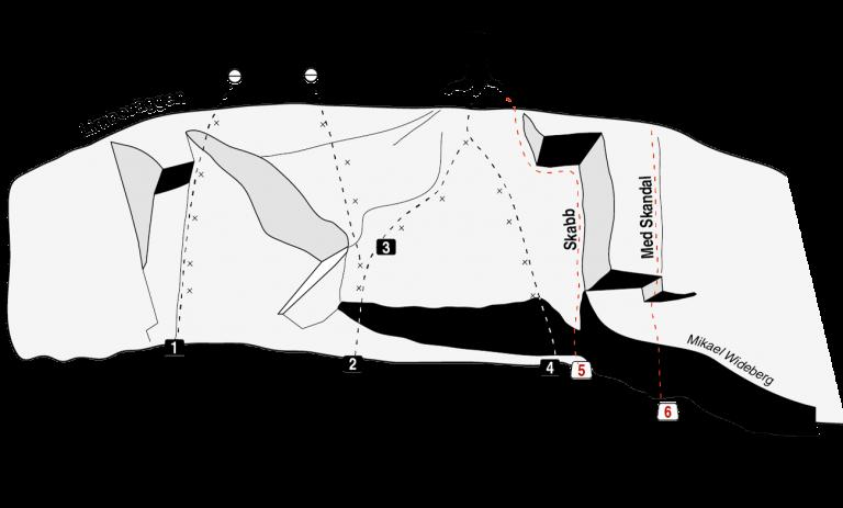 Limboväggen - Flaten - Nyturer